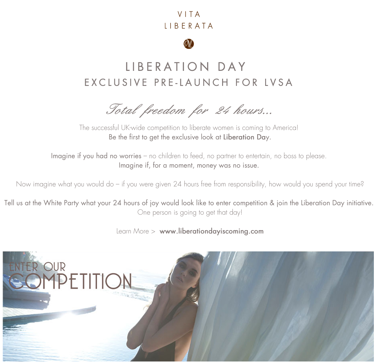 Liberation Day LVSA Exclusive Pre-Launch
